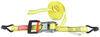 progrip ratchet straps trailer truck bed 11 - 20 feet long reversible tie-down strap double-j hooks 1-1/2 inch x 20' 1 666 lbs