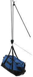 "ProGrip Hunter's Hoist w/ Pulley and Rope Lock - 20' Long x 3/8"" Diameter - 500 lbs"