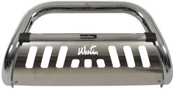 "Westin Ultimate Bull Bar with Skid Plate - 3"" Tubing - Chrome-Plated Stainless Steel"