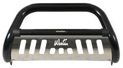 "Westin Ultimate Bull Bar with Skid Plate - 3"" Tubing - Black Powder Coated Steel"