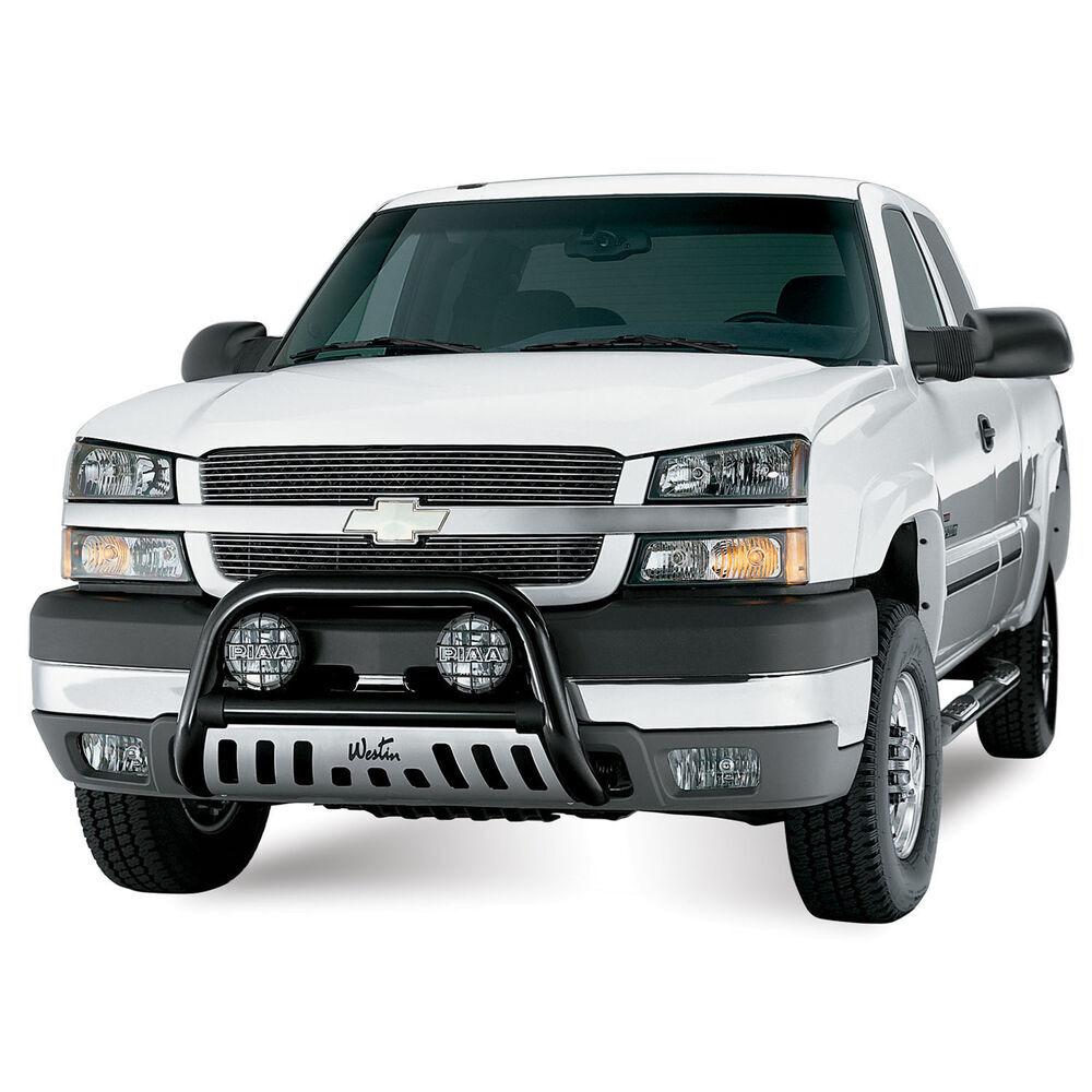 Pickup Brush Guard : Chevrolet silverado westin ultimate bull bar with