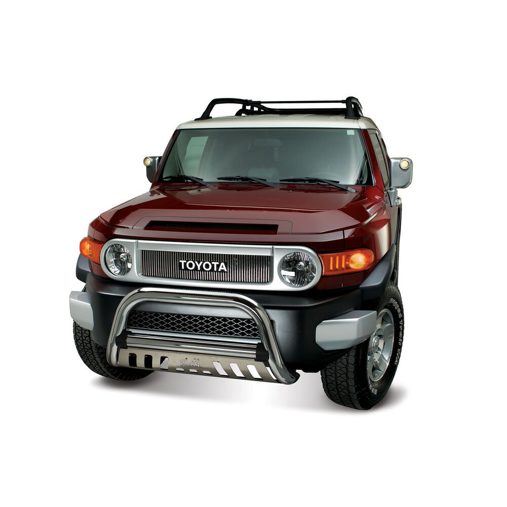 2010 toyota fj cruiser westin ultimate bull bar with skid. Black Bedroom Furniture Sets. Home Design Ideas