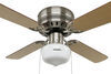 324-000034 - 4 Blades Way Interglobal Ceiling Fan w Light Kit