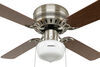 324-000034 - Schoolhouse Style Light Way Interglobal RV Ceiling Fans
