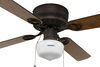 324-000036 - 4 Blades Way Interglobal Ceiling Fan w Light Kit