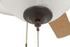 324-000044 - 42 Inch Diameter Way Interglobal Ceiling Fan w Light Kit