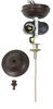 324-000044 - Oil Rubbed Bronze Way Interglobal Ceiling Fan w Light Kit