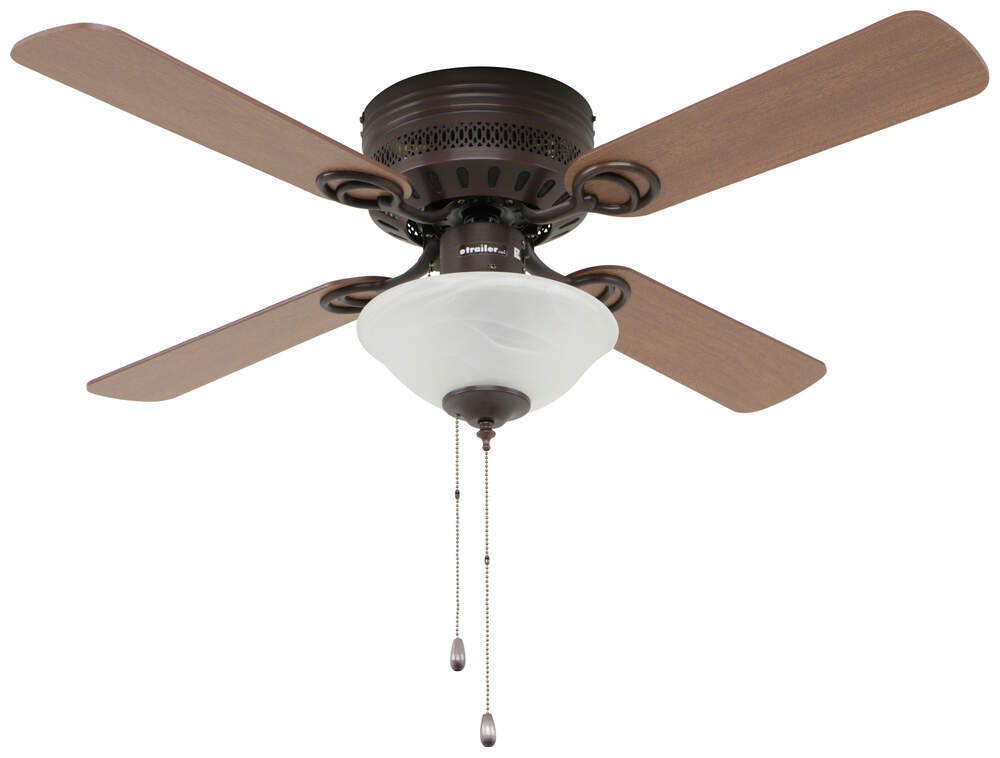 324-000044 - Cherry/Oak Blades Way Interglobal RV Ceiling Fans