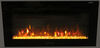 324-000080 - Flat Front Greystone RV Fireplaces