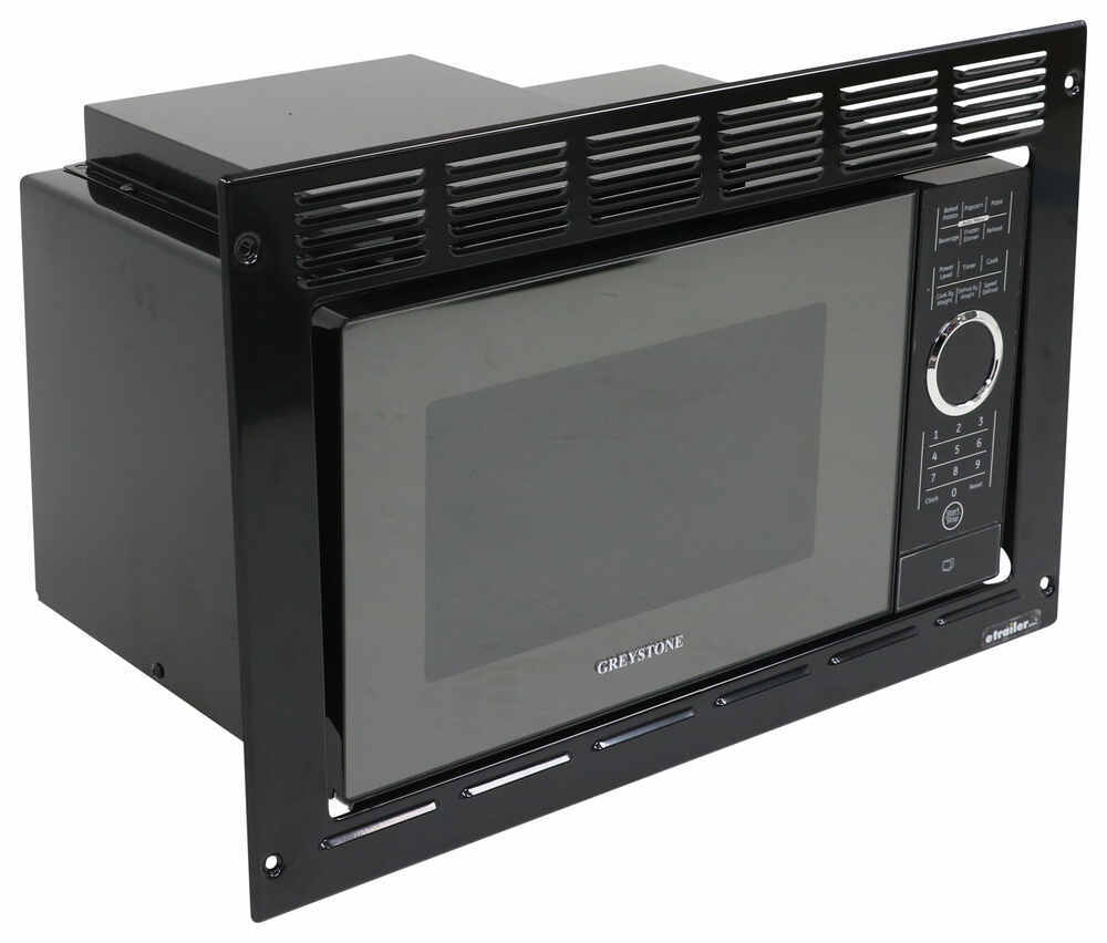 Greystone built in microwave with trim kit 0 9 cu ft for Microwave ovens built in with trim kit