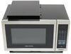 Greystone Built-in Microwave with Trim Kit - 0.9 Cu Ft - Stainless Steel 0.9 Cubic Feet 324-000106
