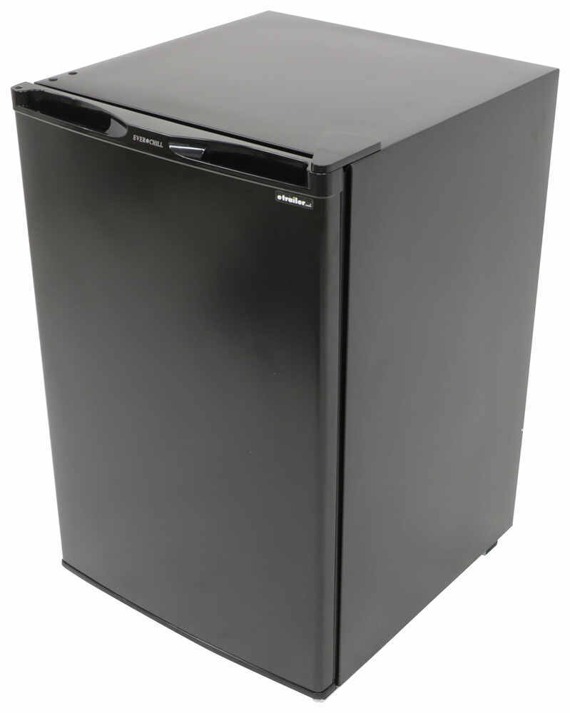 Everchill Refrigerator for RVs - Black - 4.5 Cu Ft 4.50 Cubic Feet 324-000109
