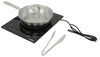 Greystone Induction Cooktop for RVs - Single Burner - 1300 Watt - 120V Induction Cooktop 324-000126