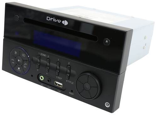 Rv Stereo Single Din Aux Usb Bluetooth App Control