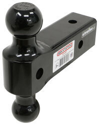 "Dual-Ball Mount for Gen-Y Hitch Adjustable 2-1/2"" Receivers - 2-5/16"", 2"" Balls - 21K"