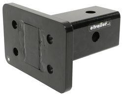 Pintle Hook Mounting Plate for Gen-Y Adjustable Ball Mounts w/ 2-1/2
