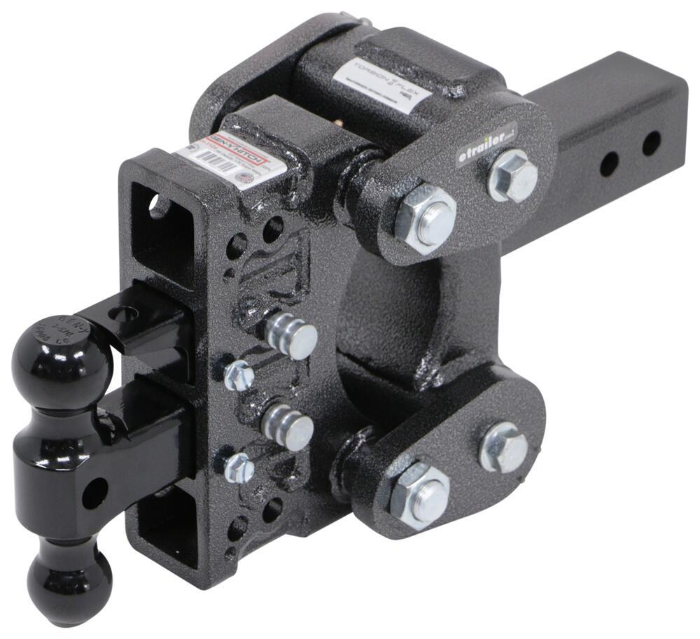 325-GH-1124 - Stacked Receivers,Shock Absorbing Gen-Y Hitch Ball Mounts
