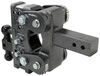 "Gen-Y Torsion 2-Ball Mount w/ Stacked Receivers - 2-1/2"" Hitch - 7-1/2"" Drop/Rise - 16K Class V,16000 lbs GTW 325-GH-1125"