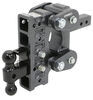 "Gen-Y Torsion 2-Ball Mount w/ Stacked Receivers - 2"" Hitch - 7-1/2"" Drop/Rise - 16K"