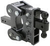 "Gen-Y Torsion 2-Ball Mount w/ Stacked Receivers - 2-1/2"" Hitch - 6"" Drop/Rise - 21K Class V,21000 lbs GTW 325-GH-1324"