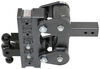 "Gen-Y Torsion 2-Ball Mount w/ Stacked Receivers - 2-1/2"" Hitch - 9"" Drop/Rise - 21K Steel Ball 325-GH-1325"