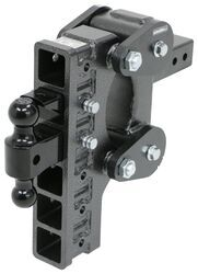 Gen-Y Torsion 2-Ball Mount w/ Stacked <strong>Receivers</strong> - 2-1/2&quot; Hitch - 12&quot; Drop/Rise - 21K - 325-GH-1326
