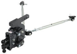 Gen-Y Torsion 2-Ball Mount w/ Stacked <strong>Receivers</strong> - 2&quot; Hitch - 12-1/2&quot; Drop - 16K - 325-GH-1424