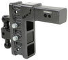 Ball Mounts 325-GH-1724 - Stacked Receivers,Built-In Pintle Hook - Gen-Y Hitch