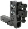 Gen-Y Hitch Stacked Receivers,Built-In Pintle Hook Ball Mounts - 325-GH-1724