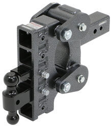 "Gen-Y Torsion 2-Ball Mount w/ Stacked Receivers - 3"" Hitch - 9"" Drop/Rise - 21K"