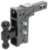 gen-y hitch ball mounts two balls drop - 7-1/2 inch rise 325-gh-314