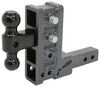 gen-y hitch ball mounts two balls class iv 10000 lbs gtw 325-gh-314