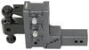 Ball Mounts 325-GH-623 - Stacked Receivers,Built-In Pintle Hook - Gen-Y Hitch