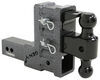 """Gen-Y Adjustable 2-Ball Mount w/ Stacked Receivers - 2-1/2"""" Hitch - 6"""" Drop/Rise - 21K Class V,21000 lbs GTW 325-GH-623"""