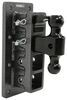 """Gen-Y Adjustable 2-Ball Mount w/ 2-1/2"""" Stacked Receivers - Bolt On - 9"""" Drop/Rise - 21K Adjustable Channel Mount 325-GH-724"""