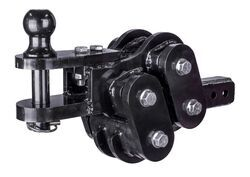 "Gen-Y Horizontal Torsion Clevis and Pintle Hook Combo w/ 2-5/16"" Ball - 2"" Hitch - 40K"