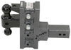 325-GH-924 - Stacked Receivers,Built-In Pintle Hook Gen-Y Hitch Ball Mounts