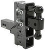 "Gen-Y Adjustable 2-Ball Mount w/ Stacked Receivers - 2-1/2"" Hitch - 6"" Drop/Rise - 21K Fits 2-1/2 Inch Hitch 325-GH-924"