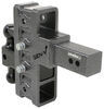 325-GH-924 - Stacked Receivers,Built-In Pintle Hook Gen-Y Hitch Adjustable Ball Mount