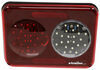 Ultra Modern LED Trailer Tail Light - 41 Diodes - Stop, Tail, Turn, Backup - Red/Clear Lens