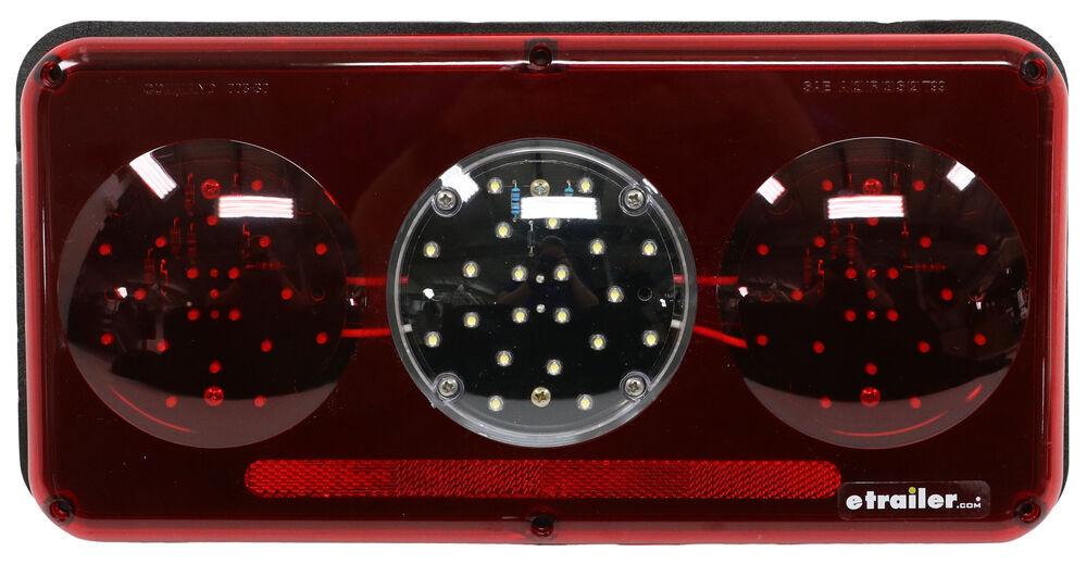 328-003-30LEM2 - Red and White Command Electronics Tail Lights