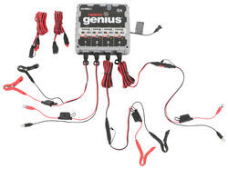 NOCO Genius UltraSafe Battery Charger and Maintainer - 4-Bank - 6V/12V - 4.4 Amp