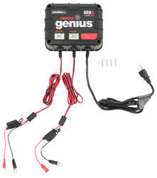 NOCO Genius On-Board Battery Charger - 2-Bank - 20 Amp