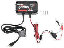 NOCO Genius Mini On-Board Battery Charger - AC to DC - 1-Bank - 4 Amp