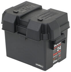 NOCO Battery Box with Strap for Group 24 Batteries - Vented - Snap Top