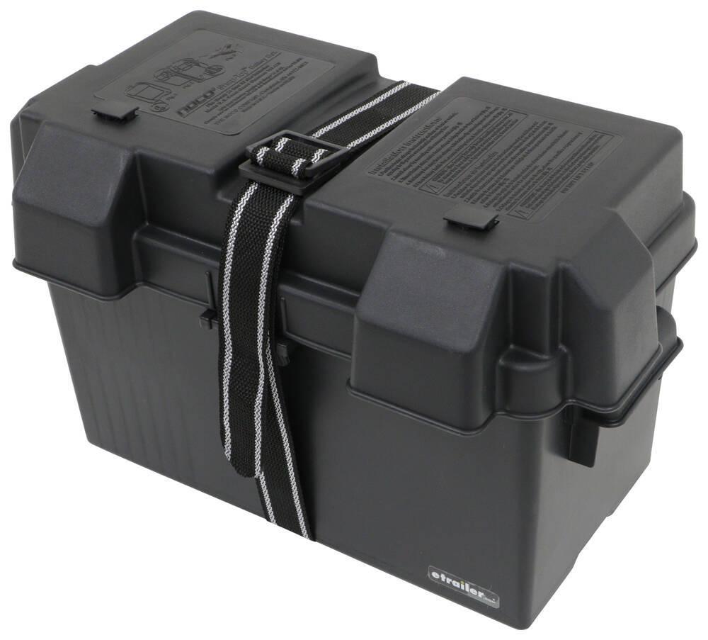 329-HM318BKS - Black Plastic NOCO Battery Boxes