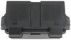 Snap-Top Battery Box with Strap for Group 24 to Group 31 Batteries - Vented Black Plastic 329-HM318BKS