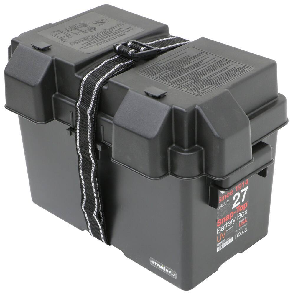 NOCO Battery Boxes - 329-HM327BKS