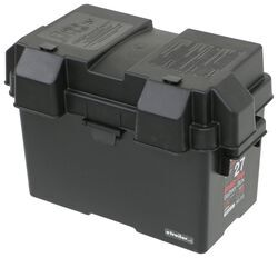 NOCO Battery Box with Strap for Group 27 Batteries - Vented - Snap Top