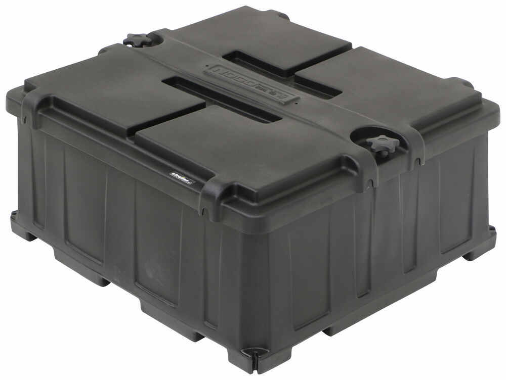 329-HM485 - 26-3/8L x 24-3/8W x 12-1/2D Inch NOCO Marine Battery Box,Camper Battery Box,Trailer Battery Box,Equipment Battery Box
